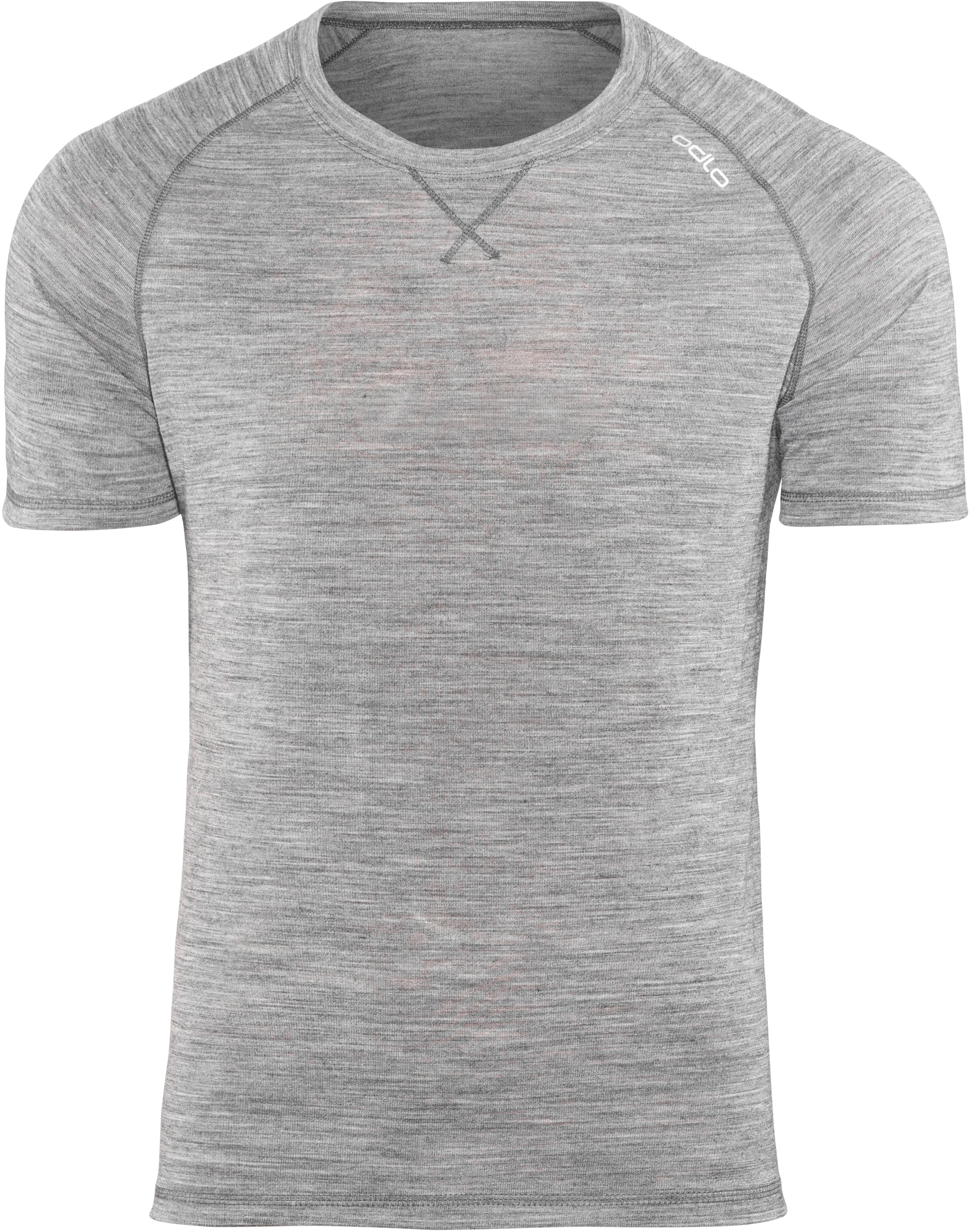 on sale 1d45a d738b Odlo Revolution TW Light Maglietta a maniche corte Uomo grigio